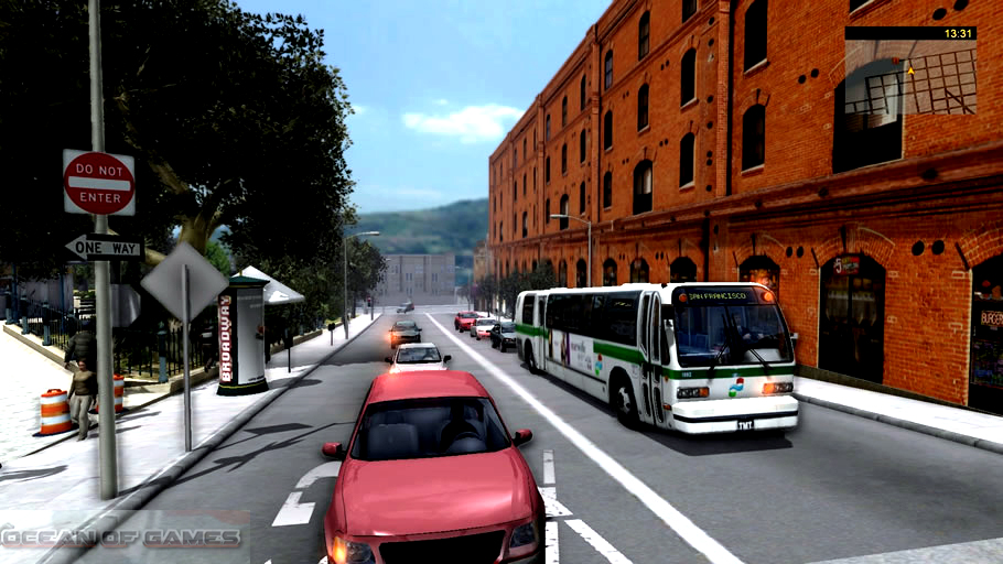 Bus and Cable Car Simulator San Francisco Features