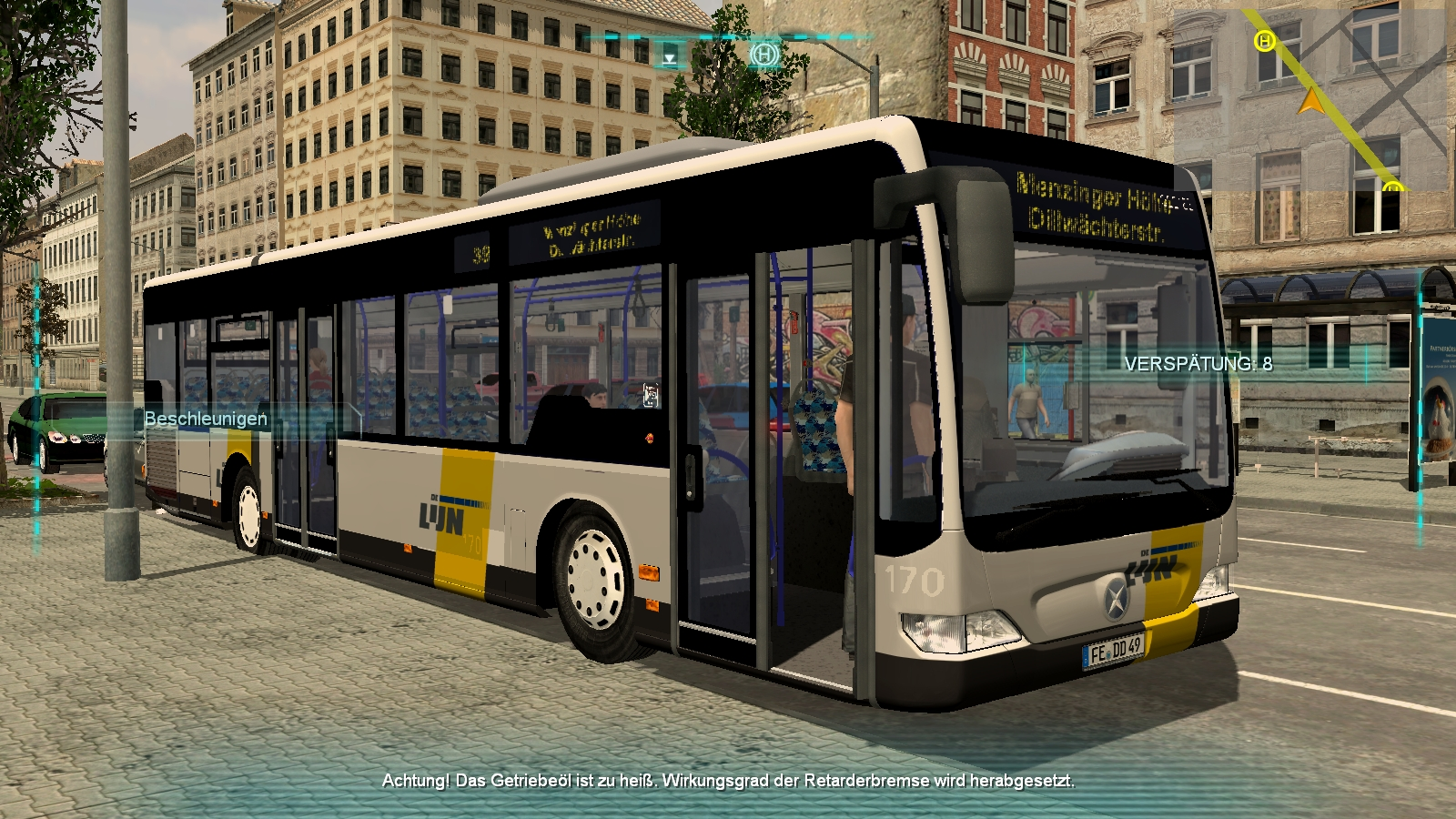 Free Bus Simulator 2012
