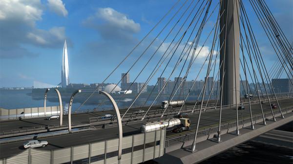 Euro Truck Simulator 2 Beyond the Baltic Sea Free Download