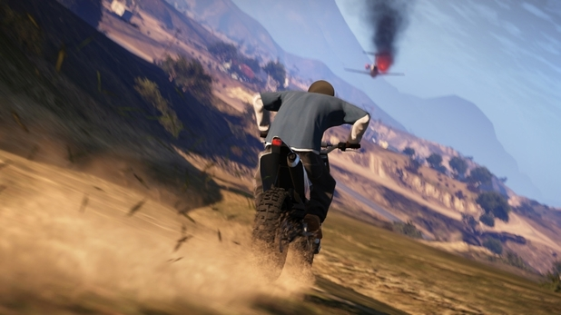gameplay of grand theft auto V