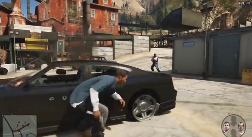 grand theft auto 5 trailer