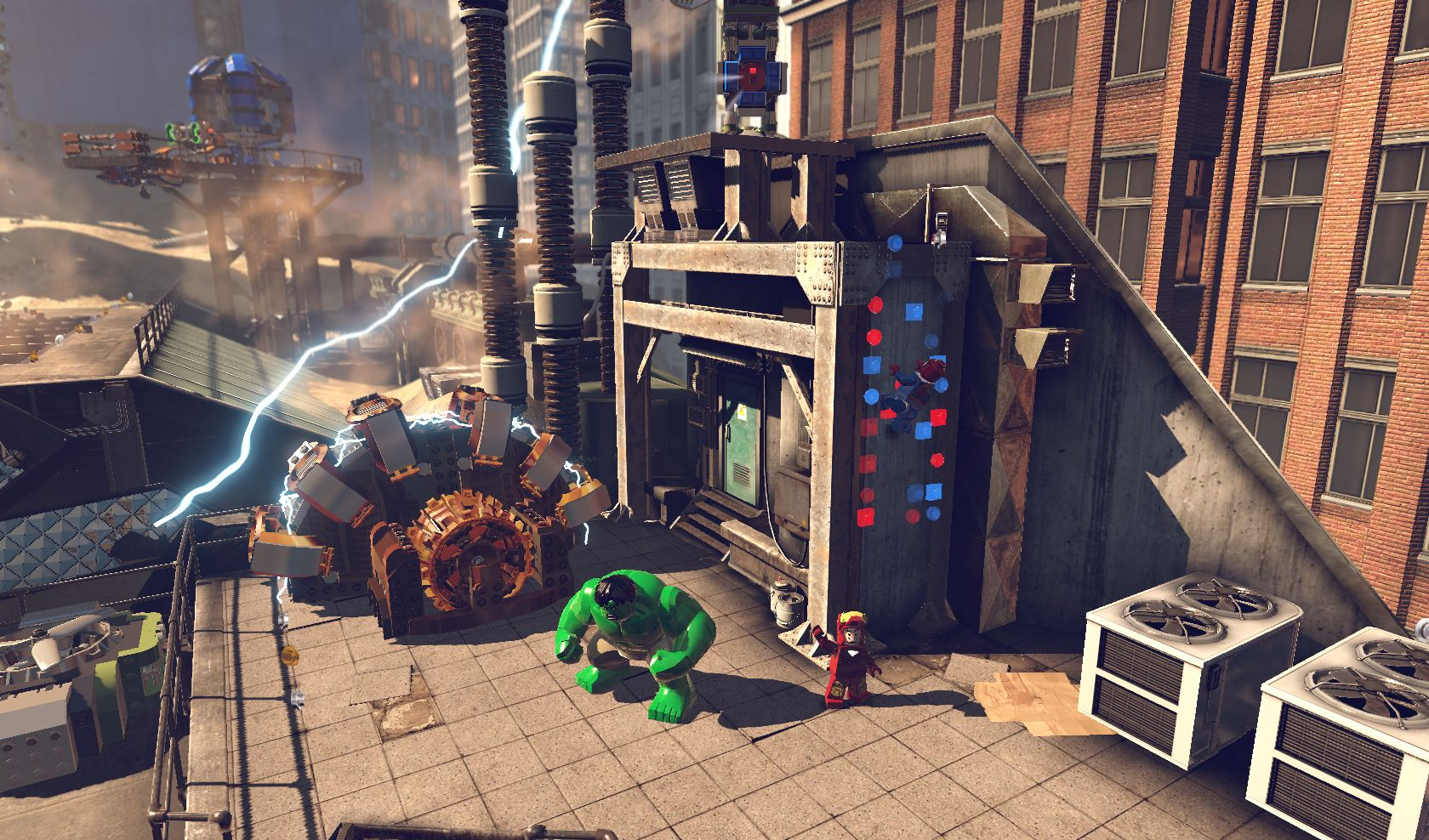Lego Marvel Super Heroes features