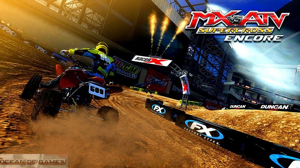 MX vs ATV Supercross Encore Setup Download For Free
