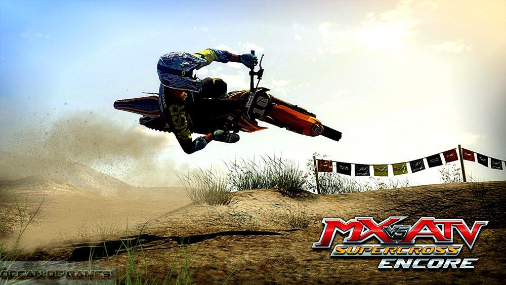 MX vs ATV Supercross Encore Features