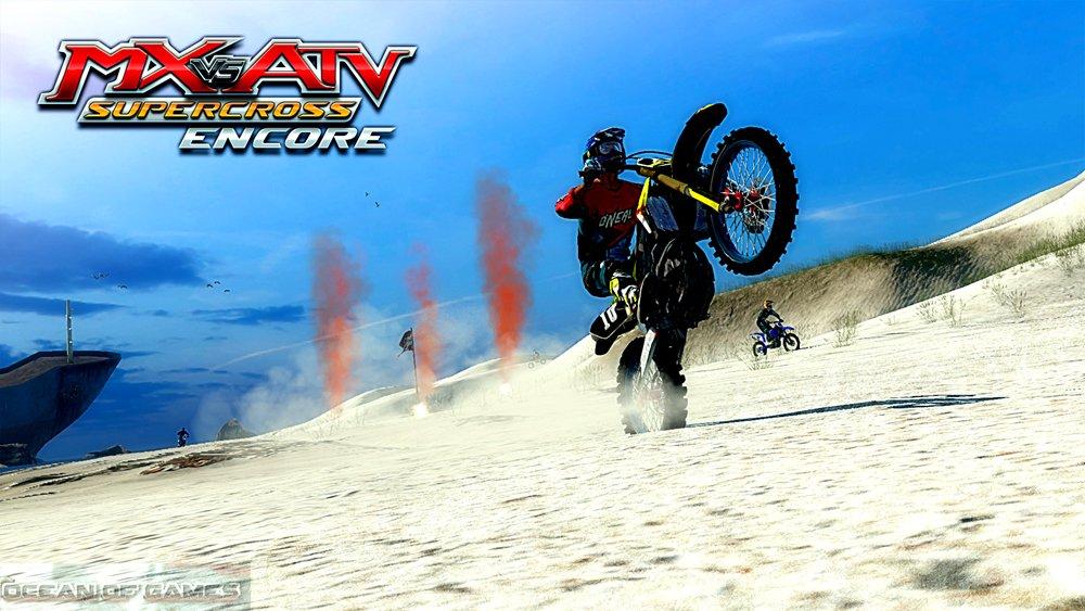 MX vs ATV Supercross Encore Download For Free