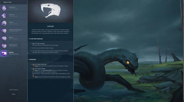 Northgard Svafnir Clan of the Snake Free Download