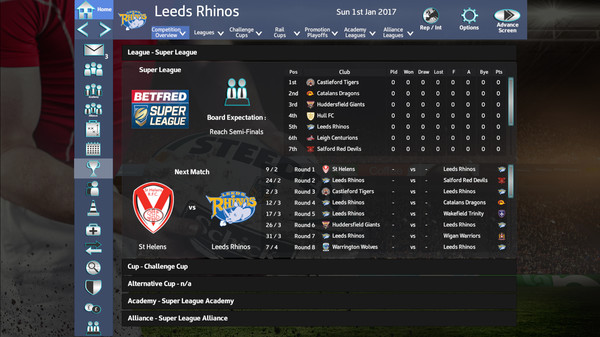 Rugby League Team Manager 2018 Free Download