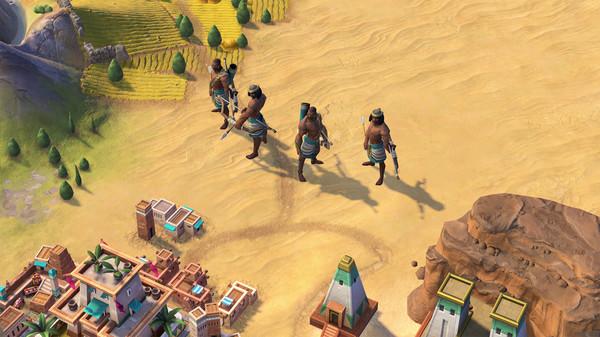 Sid Meiers Civilization VI Nubia Civilization and Scenario Game Free Download