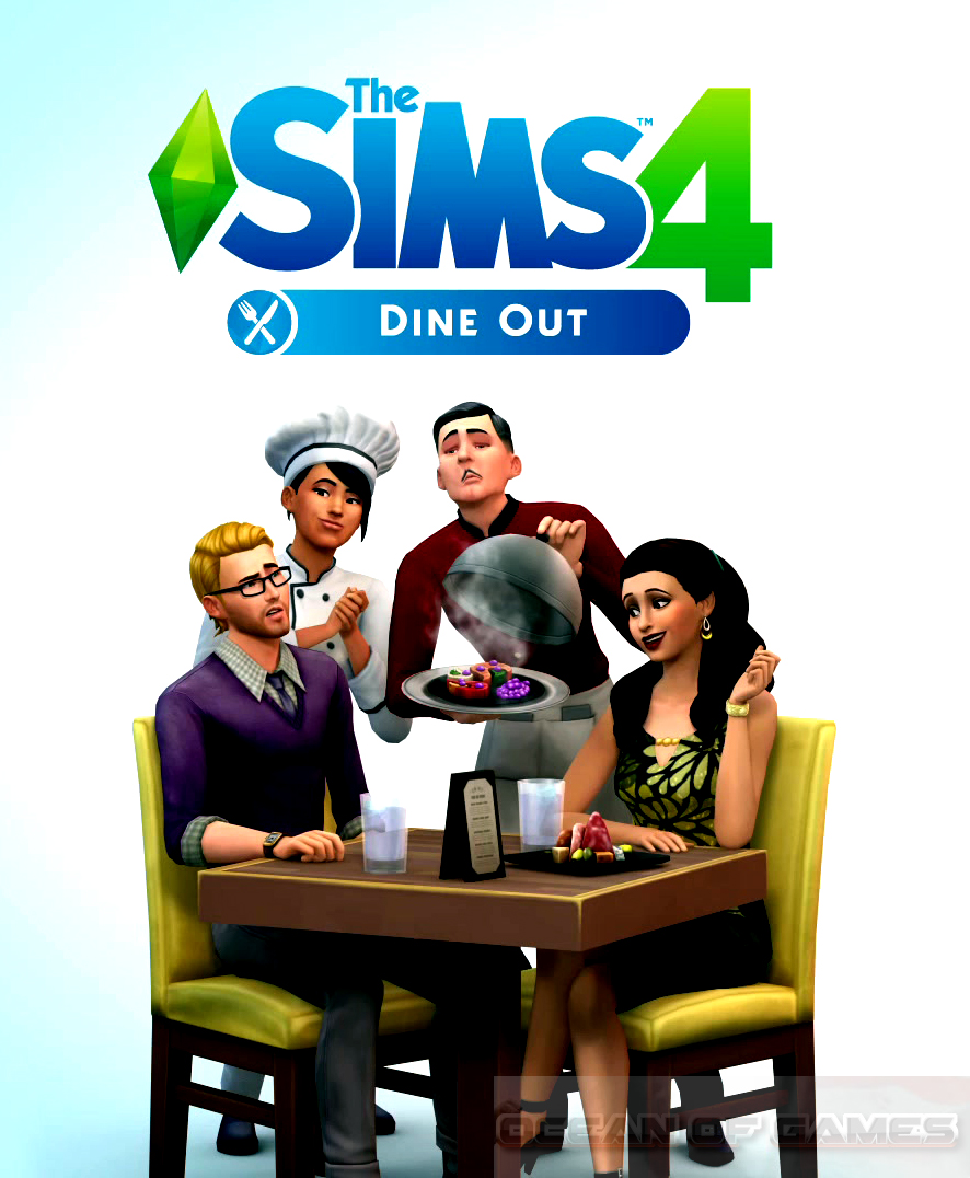 The Sims 4 Dine Out Free Download