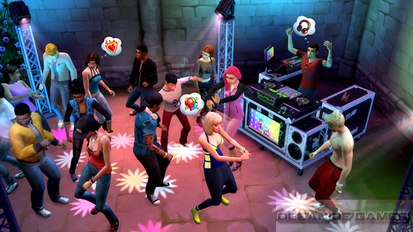 The Sims 4 Get Together Features