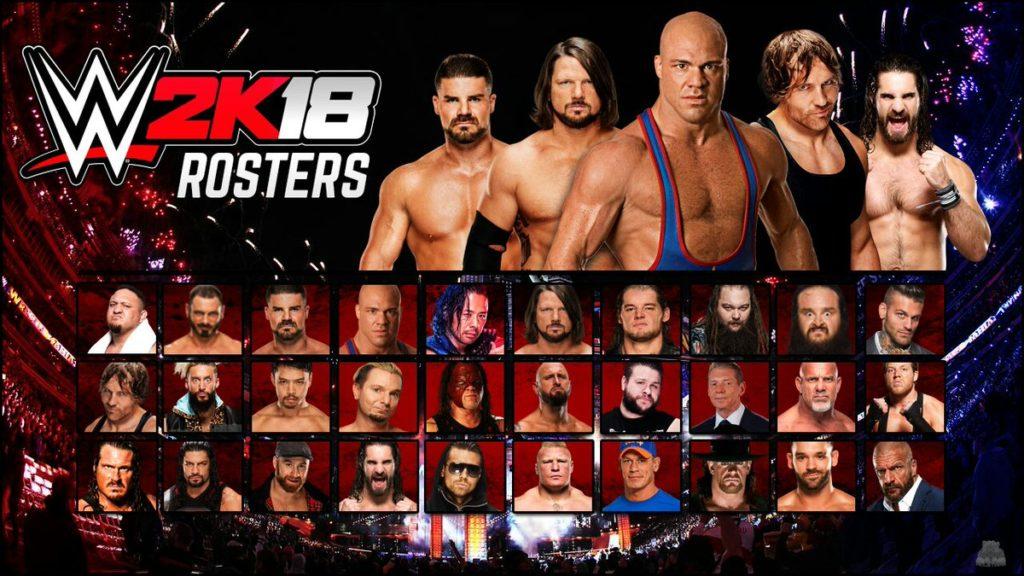 WWE 2K18 Free Download PC
